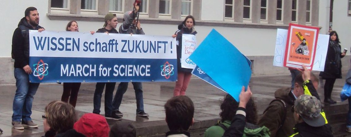 March for Science Heidelberg